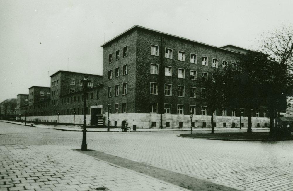 Polizeipräsidium Düsseldorf 1945