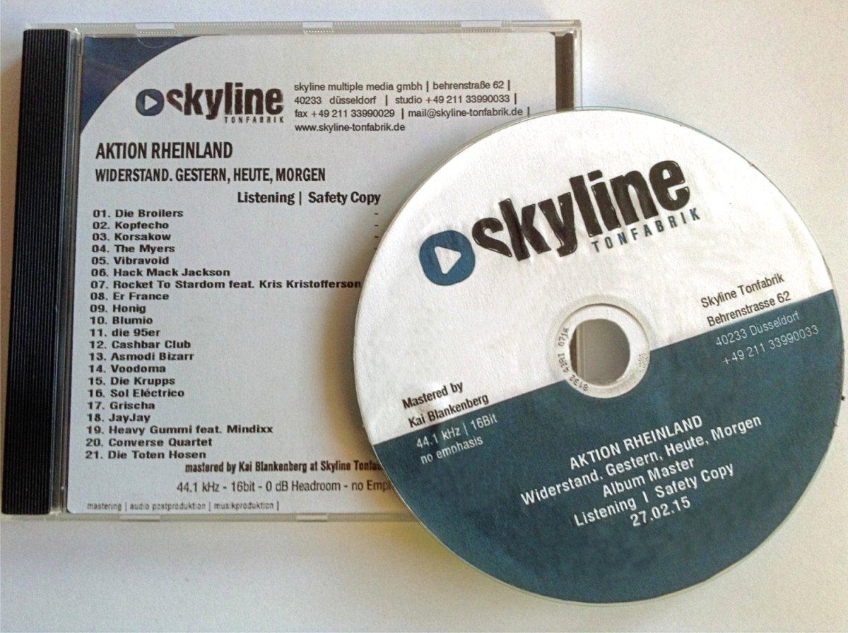 Aktion Rheinland - Master CD