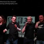 Die Aktion Rheinland Initiatoren verabschieden das Publikum
