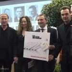 Symbolische Übergabe der AKTION RHEINLAND CD an Oberbürgermeister Thomas Geisel