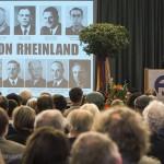 Dieter Andresen, Sohn des ermordeten Widerstandskämpfers Theodor Andresen, hielt eine beeindruckende Rede